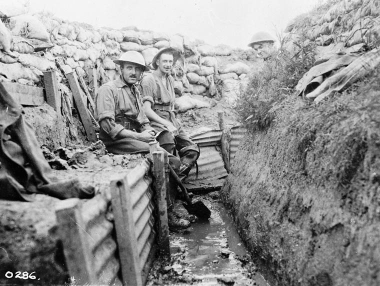 Lexicide gone pear-shaped: a snapshot of lousy, crummy words from World War I